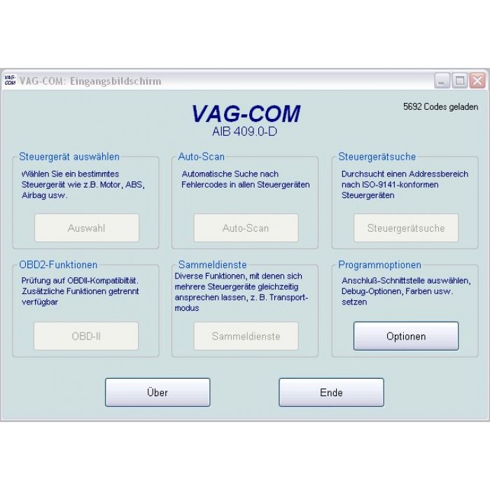 VAG COM 409.0 German Freeware
