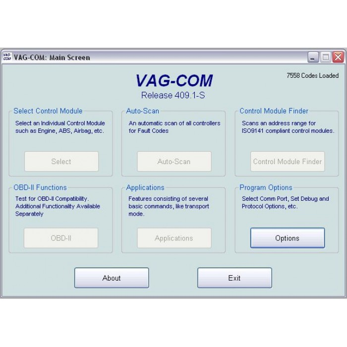 free download vag com 409 1 english freeware. Black Bedroom Furniture Sets. Home Design Ideas