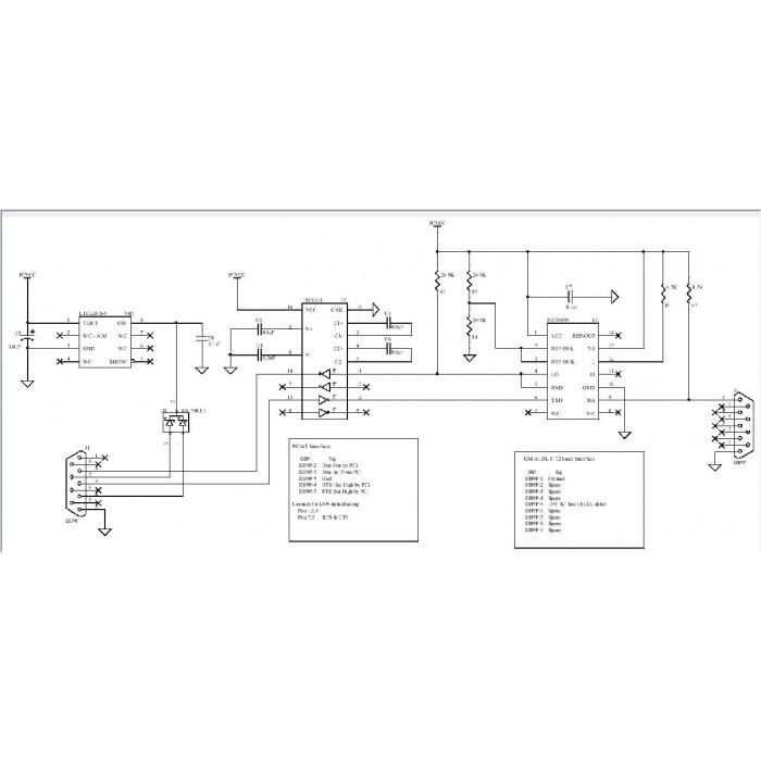 schematic gm aldl 8192 baud interface schematic gm aldl 8192 baud interface